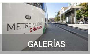 Banner Galerías. Metro de Granada