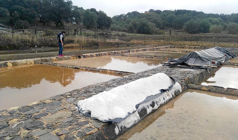 Los calentadores de las salinas de Iptuci permanecen tal y como se construyeron en época romana.