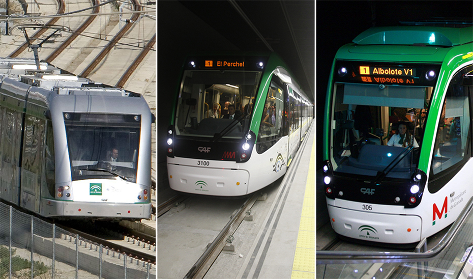 Los tres metros transportaron a más de 4,2 millones de viajeros en el primer trimestre de 2021.