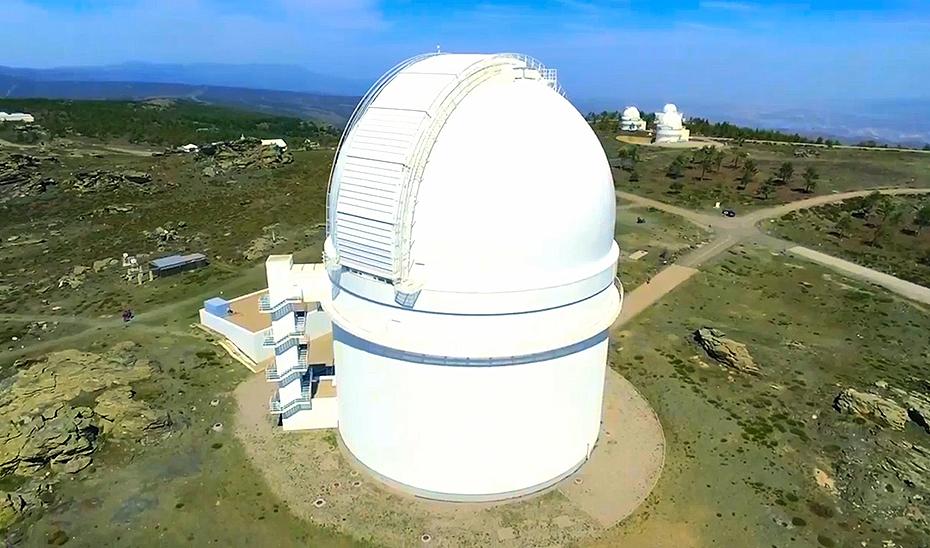 El observatorio de Calar Alto, en la sierra almeriense de Los Filabres.