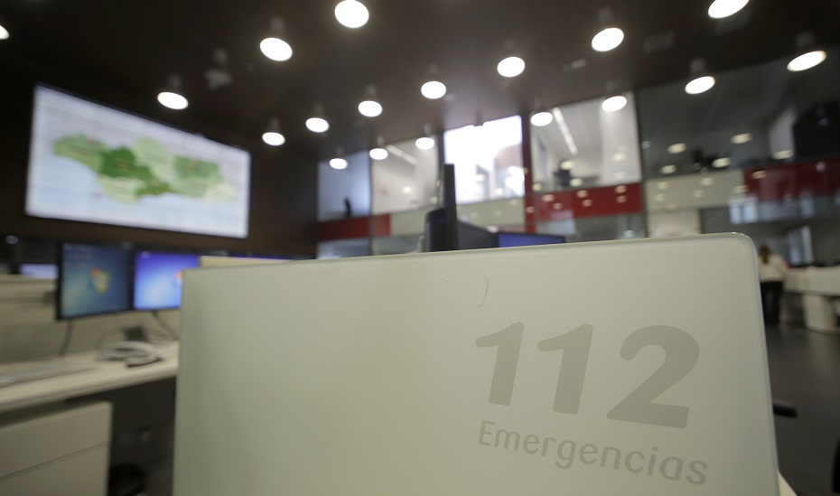 Sala de Emergencias 112 Andalucía.