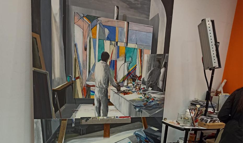 Una de las nuevas obras incorporadas al Centro Andaluz de Arte Contemporáneo.