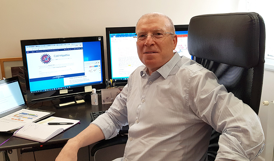 Joaquín Dopazo, investigador principal y director del Área de Bioinformática Clínica de la Fundación Progreso y Salud