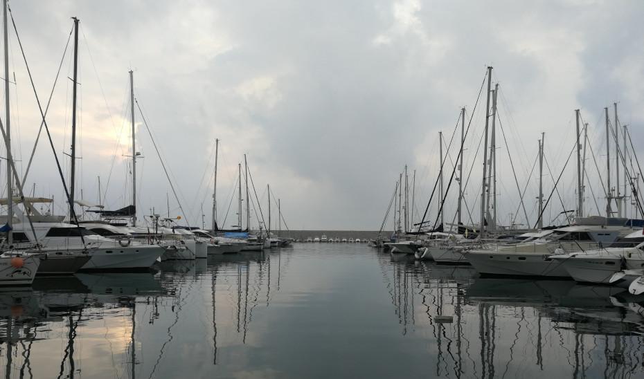 Puerto de Fuengirola, en Málaga.