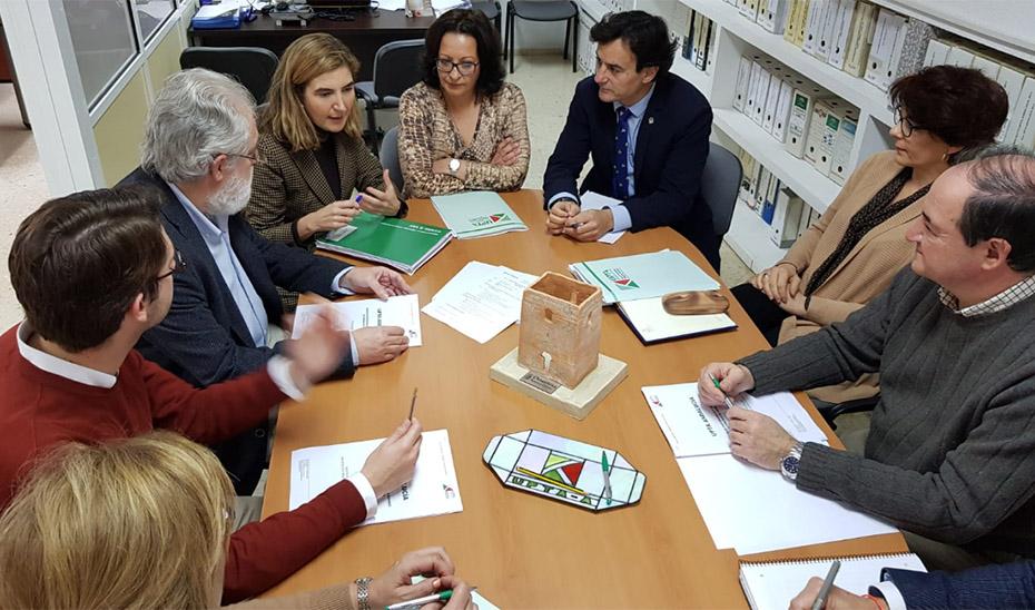 Rocío Blanco mantuvo una reunión en la Unión de Asociaciones de Trabajadores Autónomos y Emprendedores.