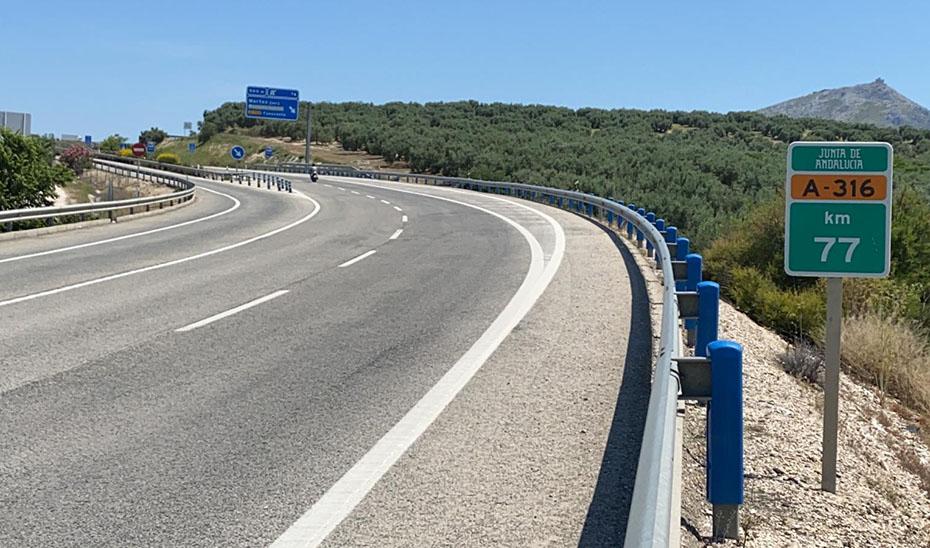 Se va a actualizar y revisar el proyecto de construcción de la Autovía del Olivar entre Martos y la intersección con la A-6051.