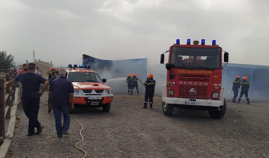 El Teléfono de Emergencias 112 gestiona tres incendios en la provincia de Granada durante la tarde