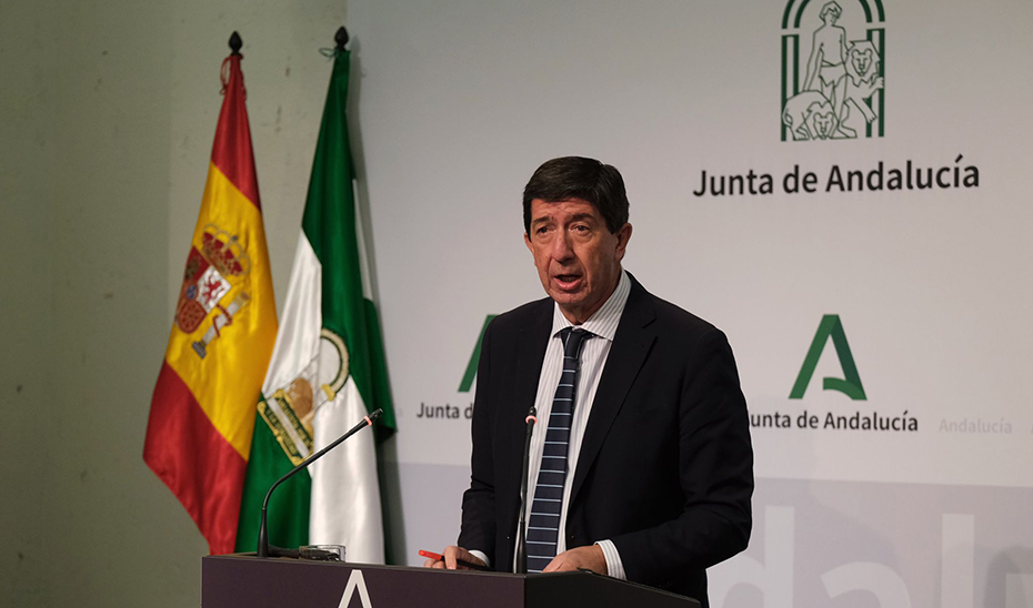 Marín subraya el avance en el proceso de compra de la futura Ciudad de la Justicia de Sevilla