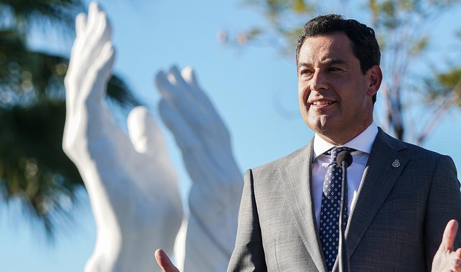 Intervención del presidente en el homenaje en Sevilla a los profesionales esenciales en la pandemia