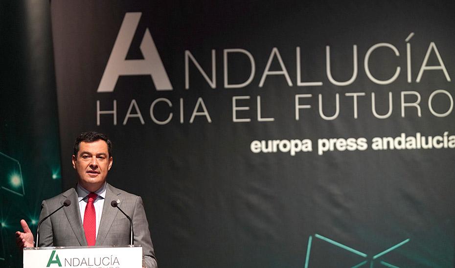 Intervención del presidente en las jornadas 'Andalucía hacia el Futuro'
