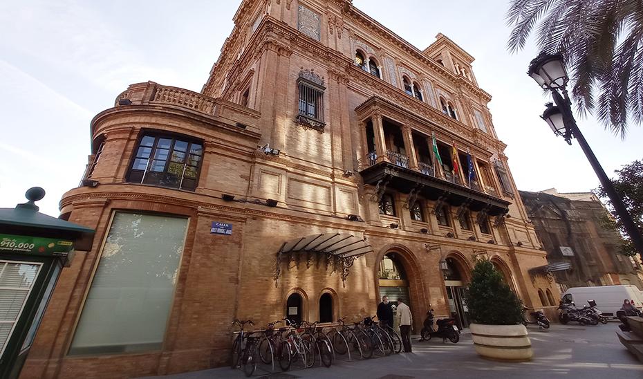 La sede central de la Agencia Tributaria de Andalucía, en Sevilla.