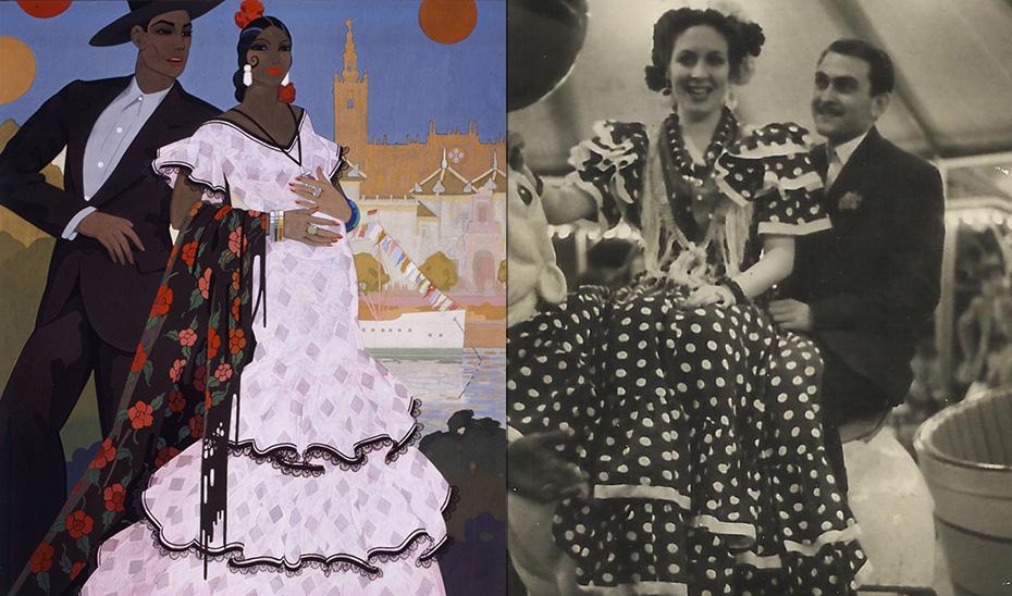 El traje de flamenca es expresión de identidad regional y elemento presente en la historia de los hogares andaluces.