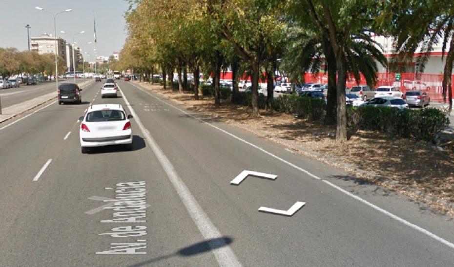 Cuatro mujeres resultan heridas en un accidente de tráfico en Sevilla capital