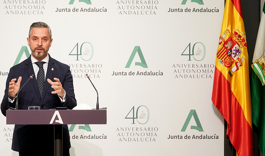 Juan Bravo informa del nuevo decreto que regula los establecimientos de juego presencial en Andalucía