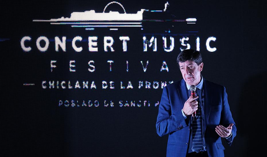 Juan Marín destaca que el Concert Music Festival supone un impulso a la oferta turística andaluza