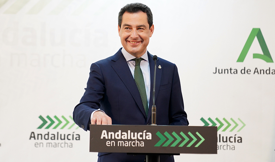 Intervención del presidente de la Junta en la inauguración del servicio de Urgencia de Atención Primaria del Centro de Salud Bulevar (Jaén)