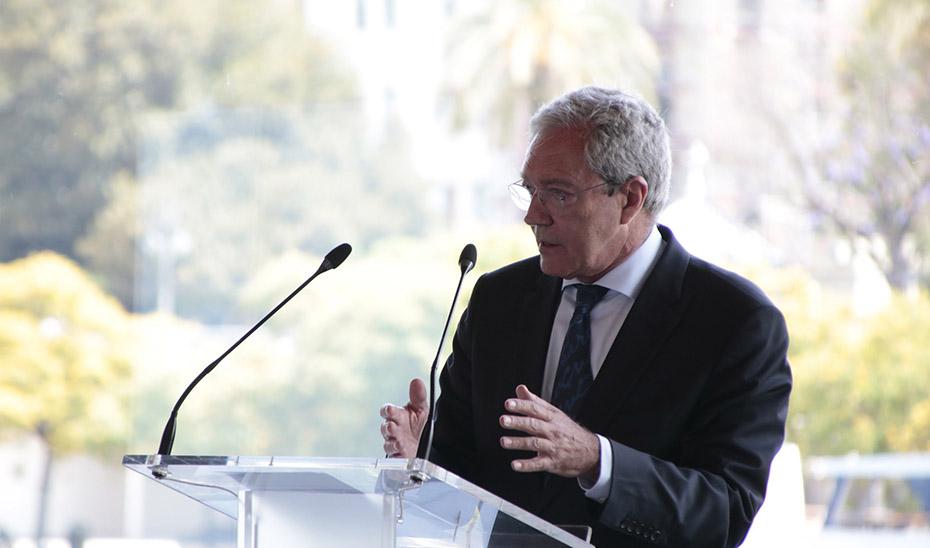 El consejero Rogelio Velasco participó en la presentación del ranking de las 1.200 mayores empresas de Andalucía Económica.