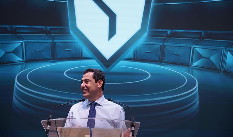 Intervención del presidente de la Junta en la inauguración del Centro de Deportes Electrónicos Vodafone Giants