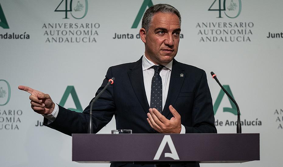Bendodo anuncia el aplazamiento de las obligaciones de pago de los créditos concedidos por la Junta por la crisis del Covid
