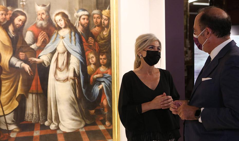 Restaurado 'Los Desposorios de la Santísima Virgen María' del Gran Poder