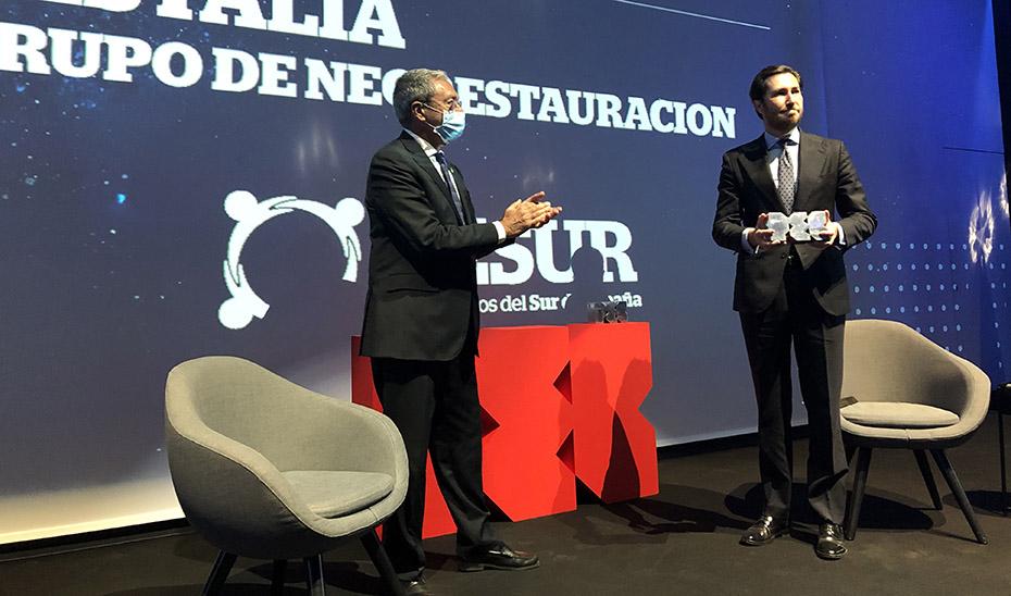 Velasco destaca a Restalia en los Premios CESUR