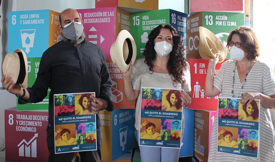 La consejera de Igualdad, Políticas Sociales y Conciliación, en la presentación de la campaña.