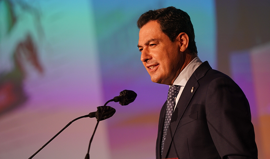 Intervención de Juanma Moreno en el 13º Congreso de CCOO en Andalucía