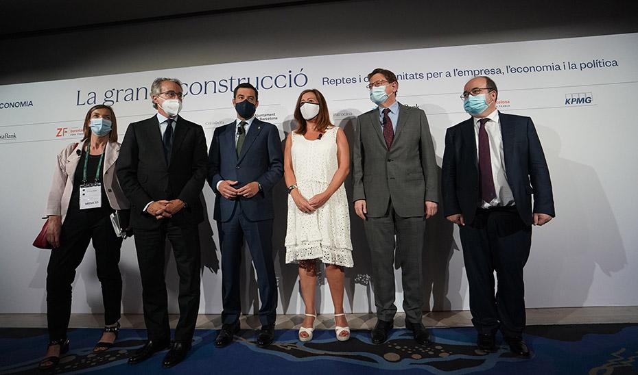 Moreno asegura que Andalucía pierde al día 4 millones de euros por un modelo de financiación obsoleto que es urgente reformar