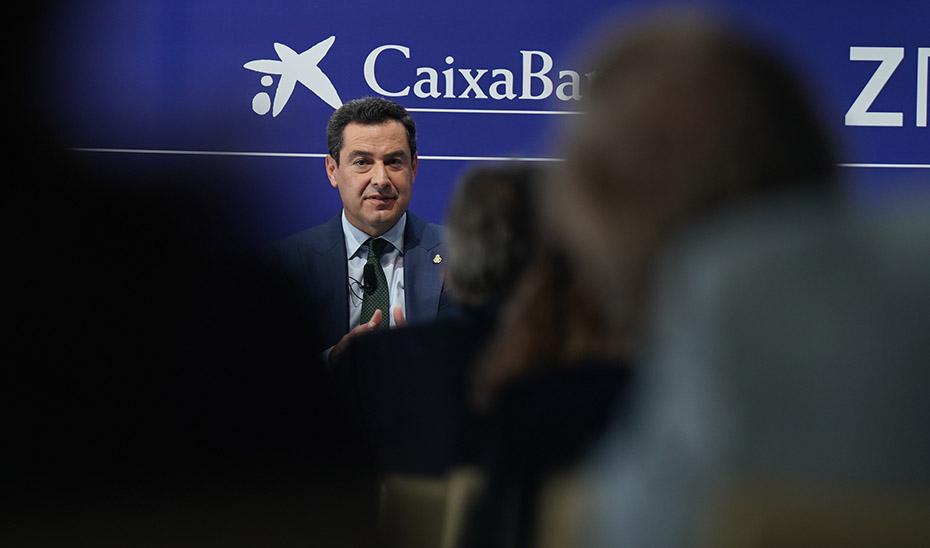 Intervención del presidente de la Junta en el Cercle d'Economia de Barcelona