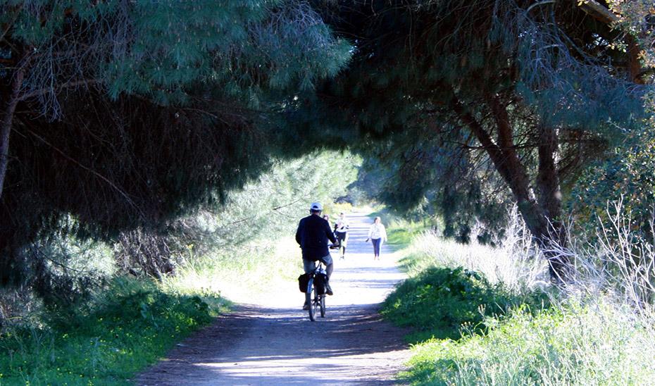 Unión ibérica a través de las vías ciclistas serranas de Huelva