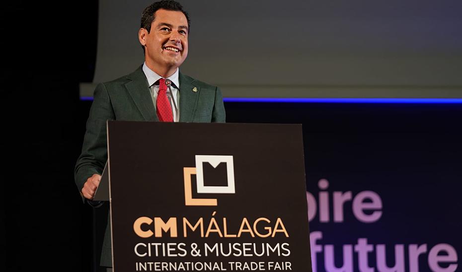Intervención del presidente de la Junta en la inauguración del Cities and Museums International Trade Fair