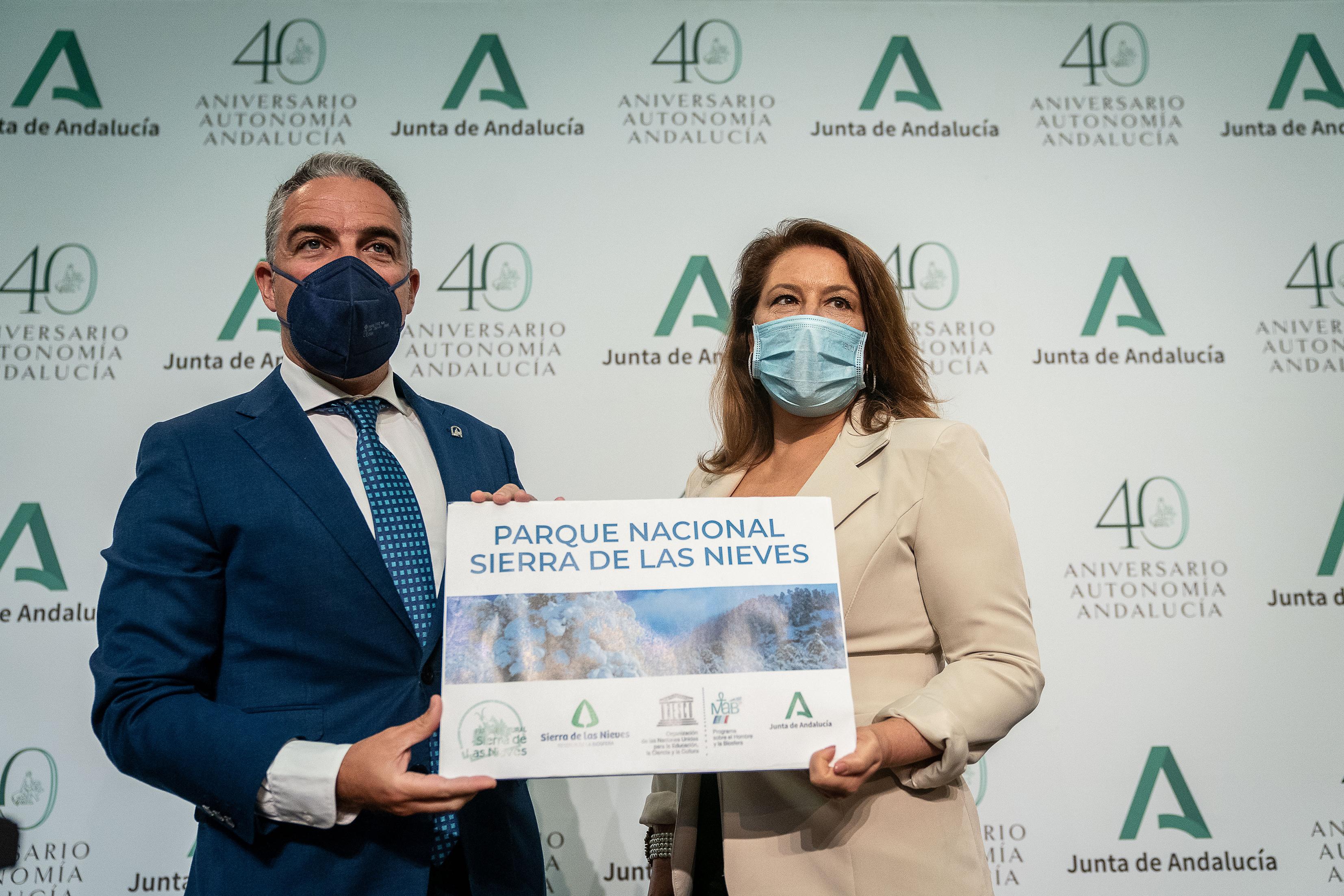 Comparecencia de Elías Bendodo y Carmen Crespo tras el Consejo de Gobierno (vídeo íntegro)