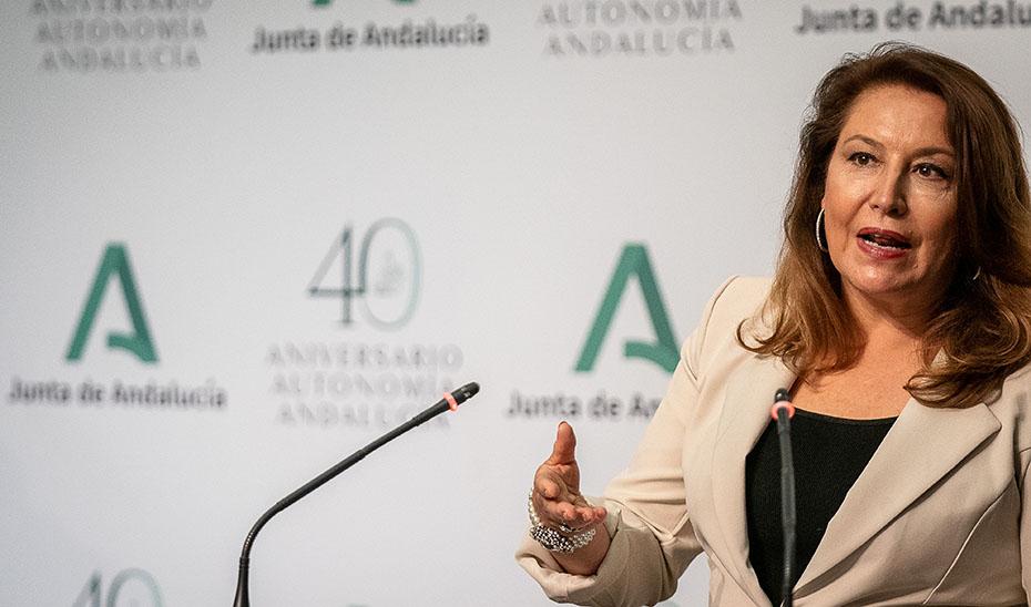 Carmen Crespo informa del debate en el Senado sobre la declaración como Parque Nacional de la Sierra de las Nieves