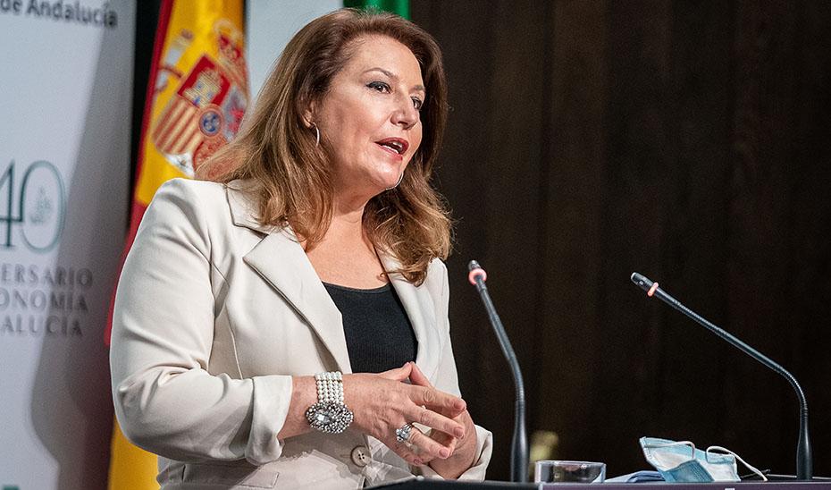Carmen Crespo anuncia la elaboración de un Reglamento para la Protección frente a la Contaminación Lumínica en Andalucía