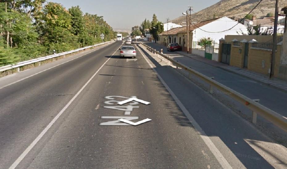 Cuatro personas resultan heridas en un accidente de tráfico en Atarfe