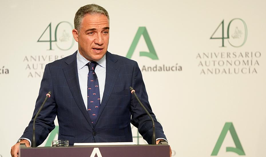 Bendodo explica la nueva Estrategia contra el Cáncer en Andalucía