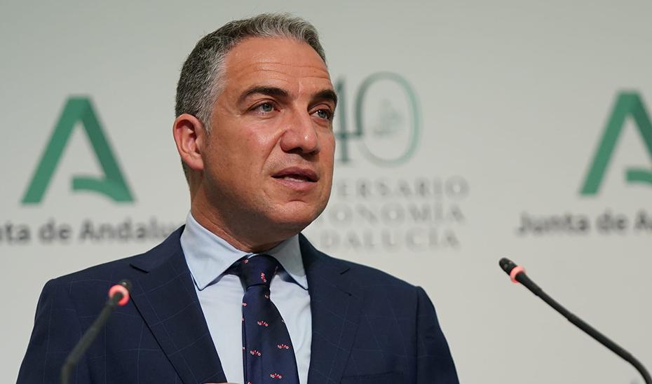 El portavoz del Gobierno andaluz muestra el apoyo de la Junta a los trabajadores de Abengoa