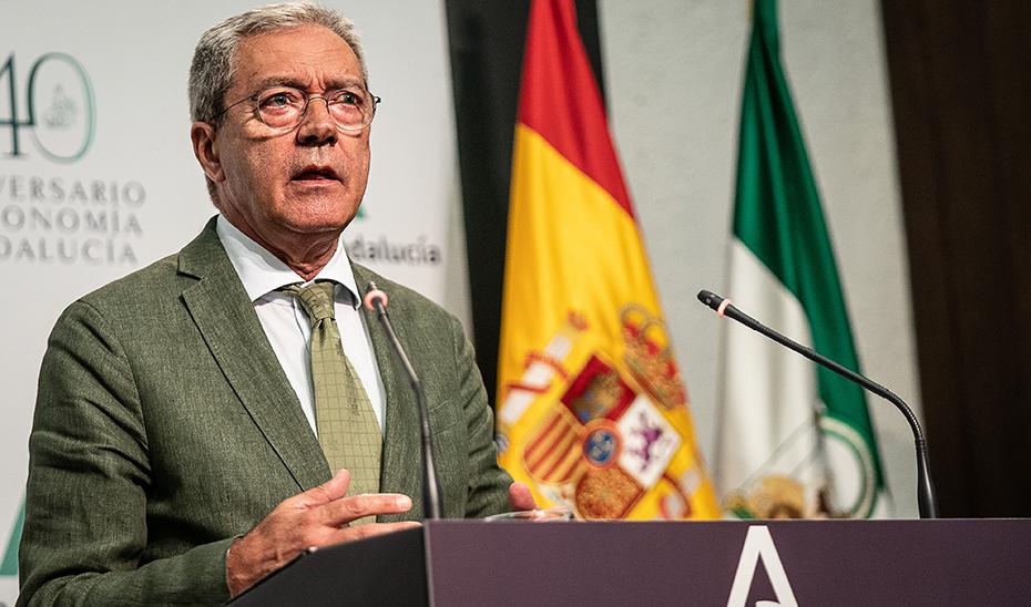 Velasco informa del Plan de Emprendimiento aprobado por el Consejo de Gobierno