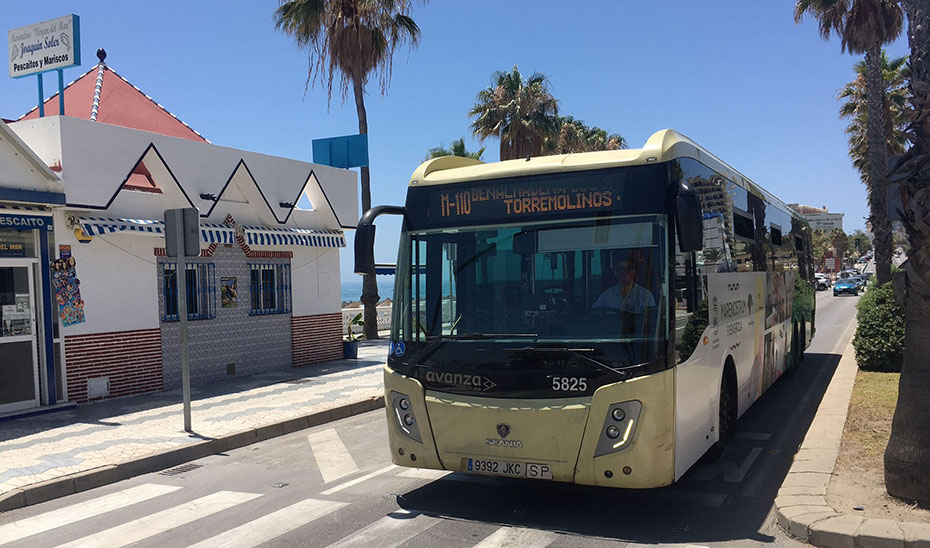 Línea del Consorcio de Málaga.