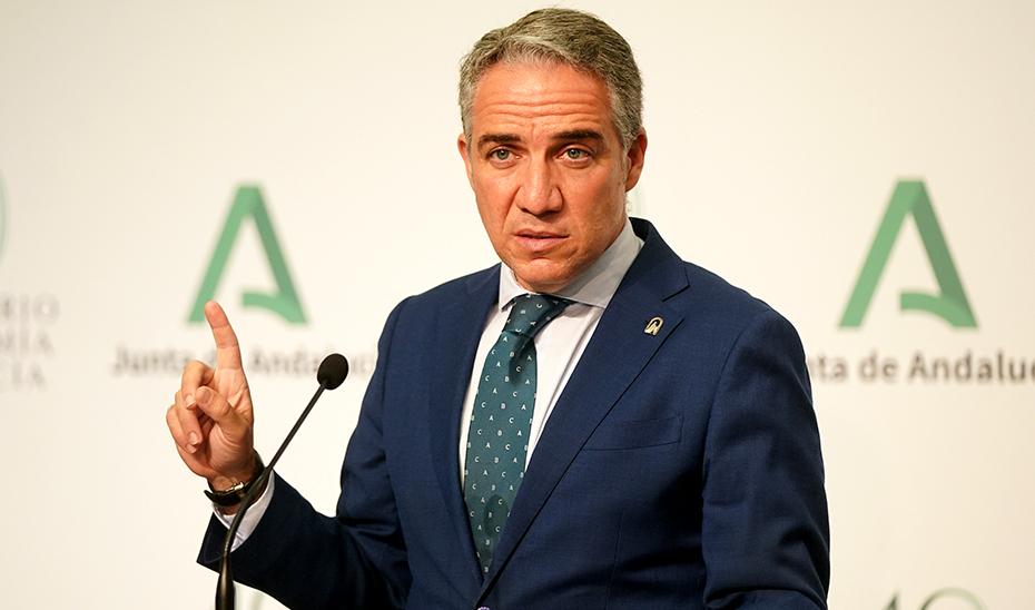El portavoz del Gobierno informa de las alegaciones de Andalucía a la Ley de Patrimonio Histórico