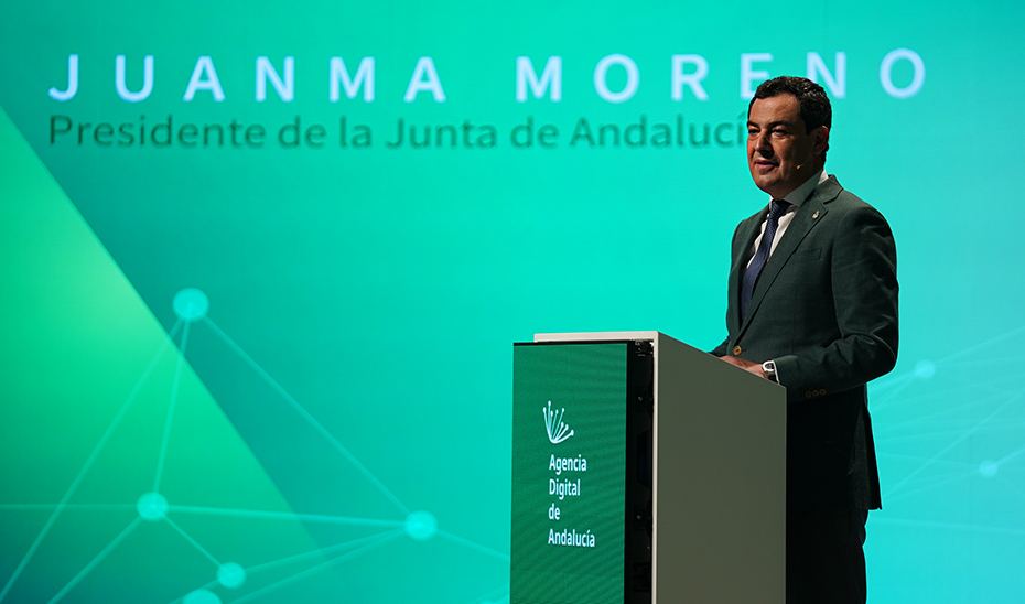 Intervención del presidente de la Junta en el acto de presentación de la Agencia Digital de Andalucía