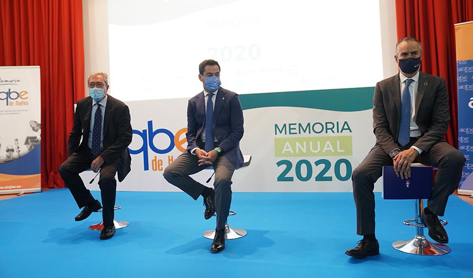 Intervención del presidente en la presentación de la memoria de AIQBE