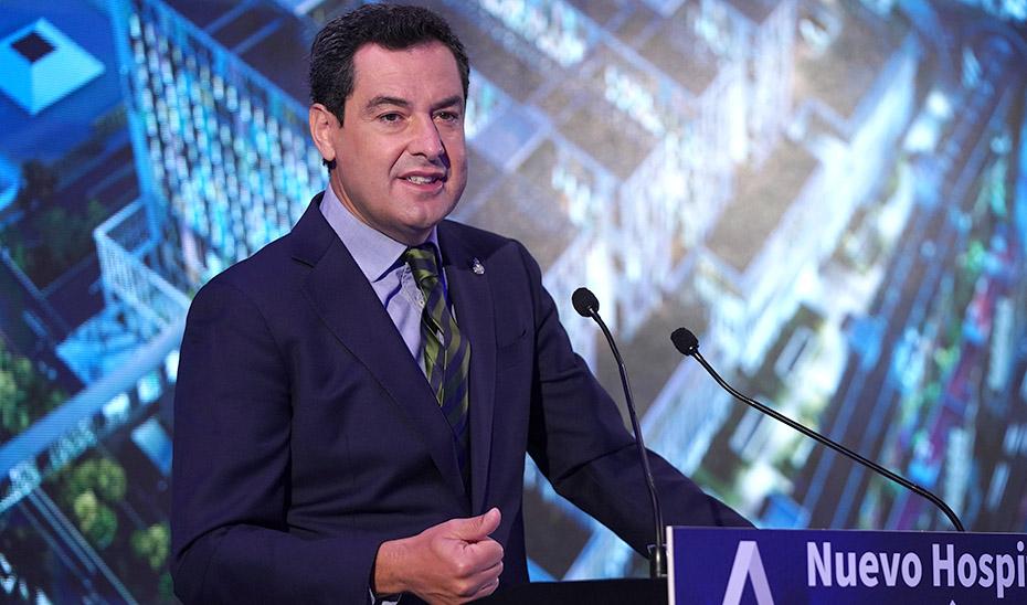 Intervención del presidente de la Junta en la presentación del anteproyecto del nuevo hospital de Málaga