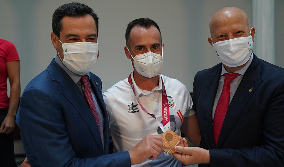 Homenaje a los deportistas olímpicos y paralímpicos andaluces en Tokio 2020 (acto íntegro)