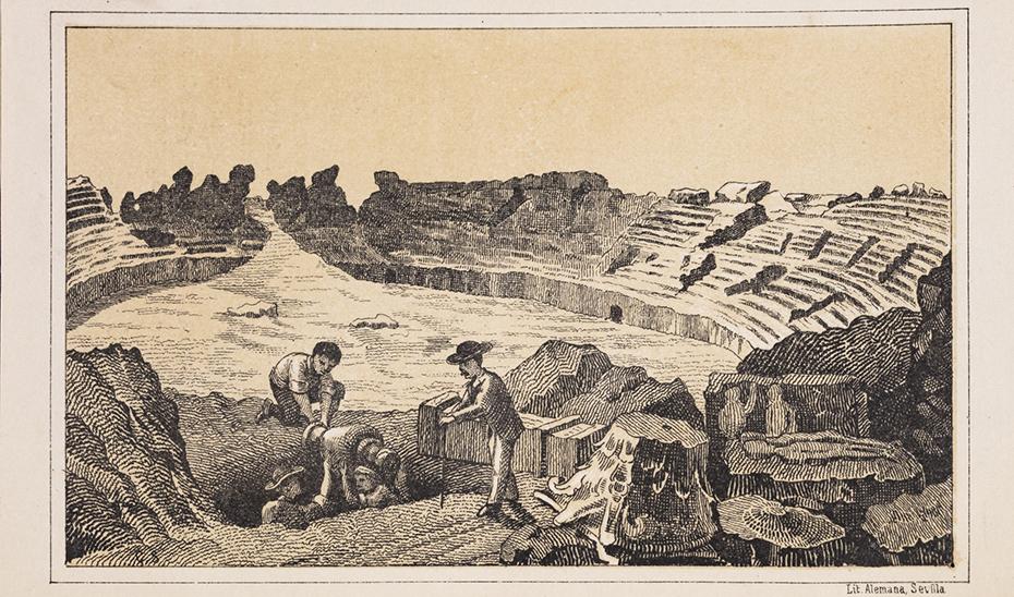 Uno de los grabados que integran la colección.
