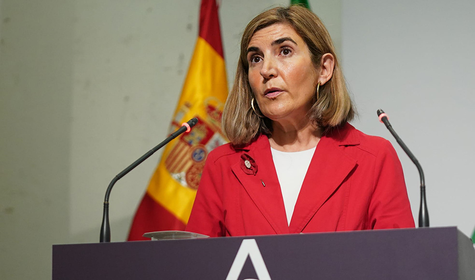 Rocío Blanco informa del decreto ley que amplía el acceso a las ayudas estatales para la solvencia de empresas y autónomos