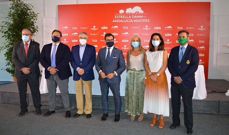 La Junta destaca la relevancia del Andalucía Masters para atraer nuevos viajeros y eventos vinculados al golf a la comunidad