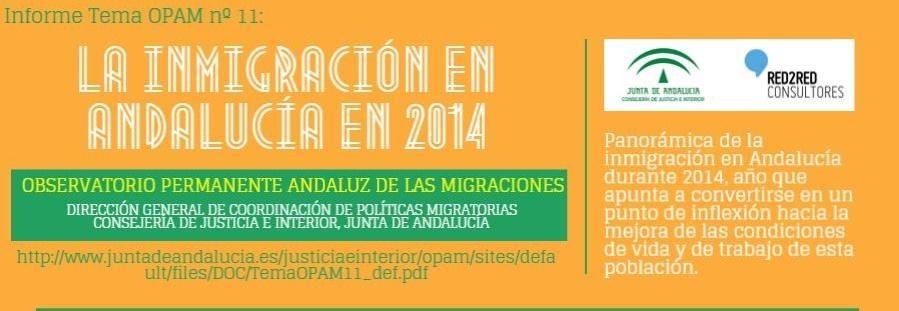 Informe anual Andalucía e Inmigración 2013