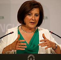 María José Sánchez, consejera de Igualdad, Salud y Políticas Sociales de la Junta.