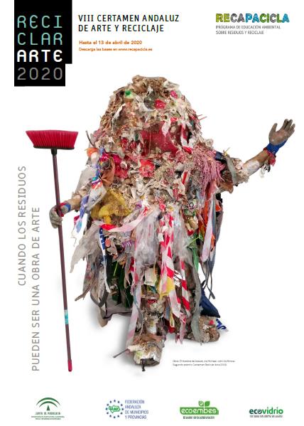 Cartel del certamen ReciclarArte